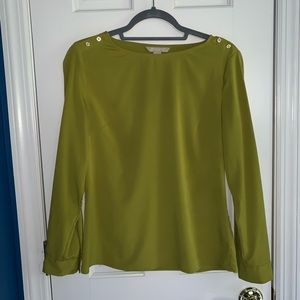 Banana Republic Green Dress Top